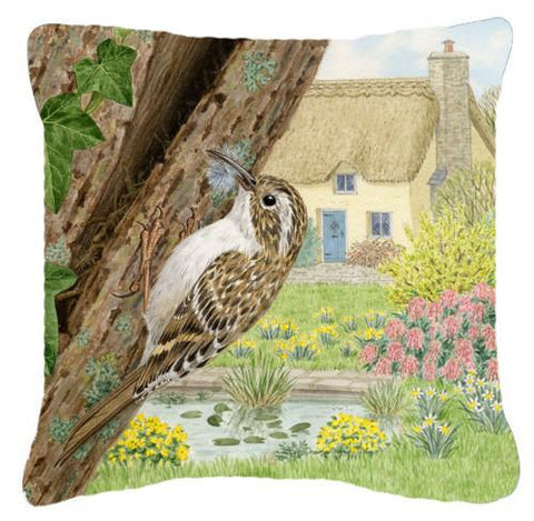 Buy this Treecreeper by Sarah Adams Canvas Decorative Pillow ASAD0680PW1414
