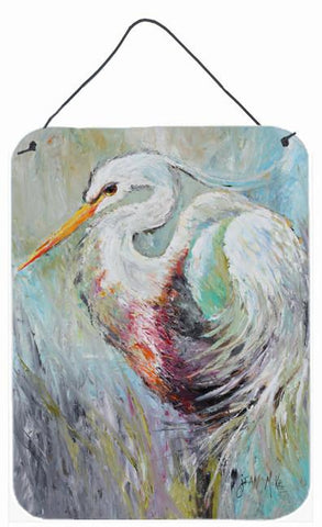 Buy this White Egret Wall or Door Hanging Prints JMK1189DS1216