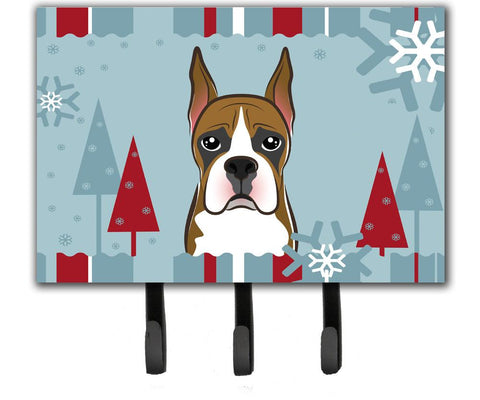 Buy this Winter Holiday Boxer Leash or Key Holder BB1719TH68