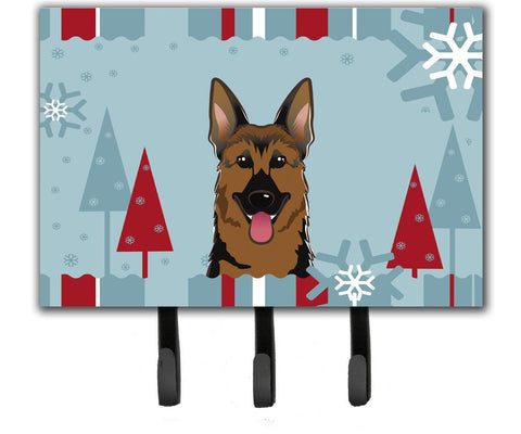 Buy this Winter Holiday German Shepherd Leash or Key Holder BB1707TH68