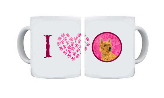 Norwich Terrier  Dishwasher Safe Microwavable Ceramic Coffee Mug 15 ounce SS4775 by Caroline's Treasures