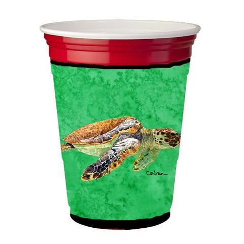 Buy this Turtle  Red Solo Cup Beverage Insulator Hugger