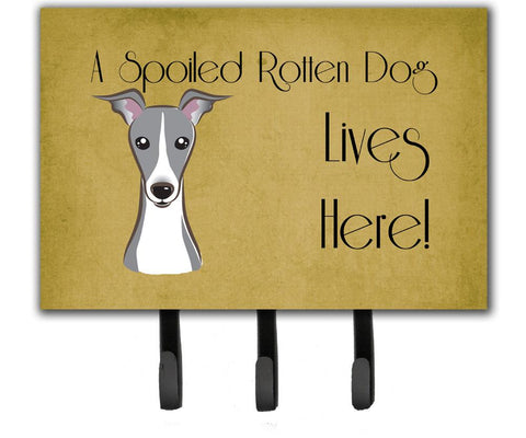 Buy this Italian Greyhound Spoiled Dog Lives Here Leash or Key Holder BB1484TH68