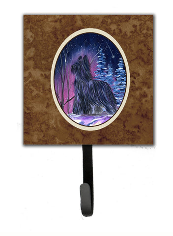 Buy this Starry Night Briard Leash Holder or Key Hook