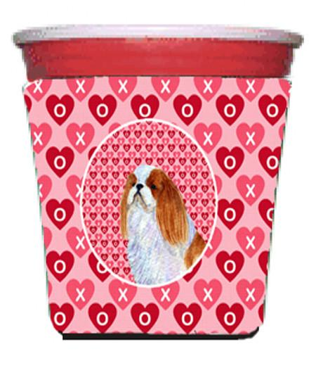 Buy this English Toy Spaniel  Red Solo Cup Beverage Insulator Hugger