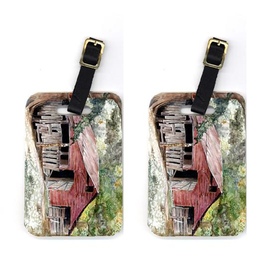 Buy this Pair of Old Barn Luggage Tags