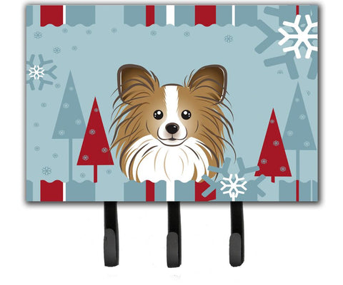 Buy this Winter Holiday Papillon Leash or Key Holder BB1744TH68