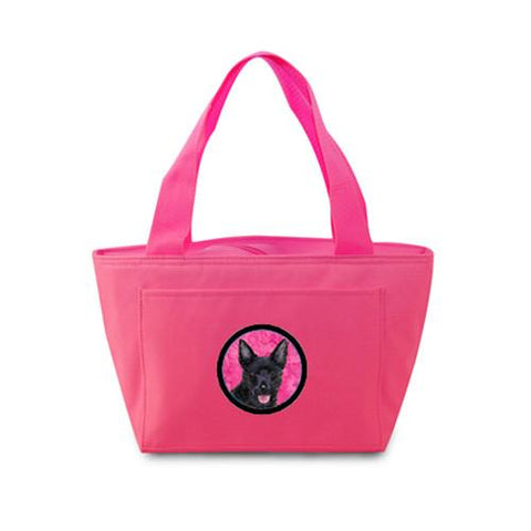 Buy this Pink Australian Kelpie  Lunch Bag or Doggie Bag SS4774-PK