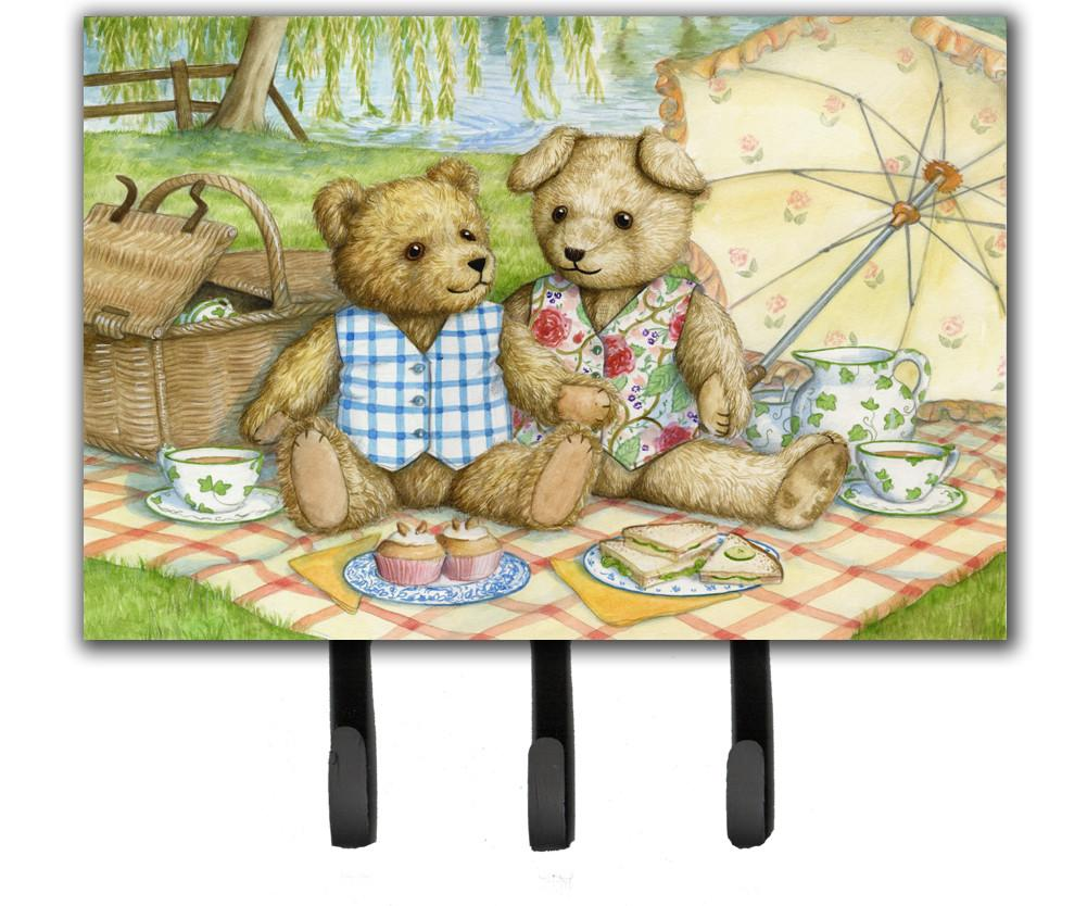 Summertime Teddy Bears Picnic Leash or Key Holder CDCO0308TH68 by Caroline's Treasures