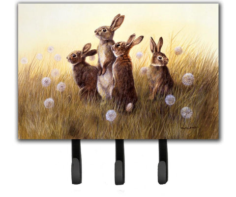 Buy this Rabbits in the Dandelions Leash or Key Holder BDBA0144TH68