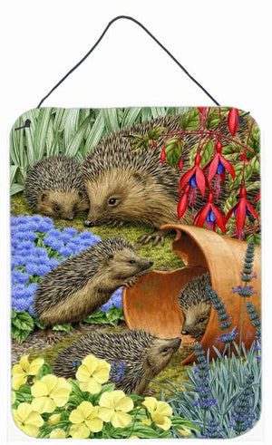 Buy this Hedgehogs in the Flower Pot Wall or Door Hanging Prints ASA2087DS1216