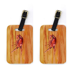 Buy this Pair of Crawfish Luggage Tags