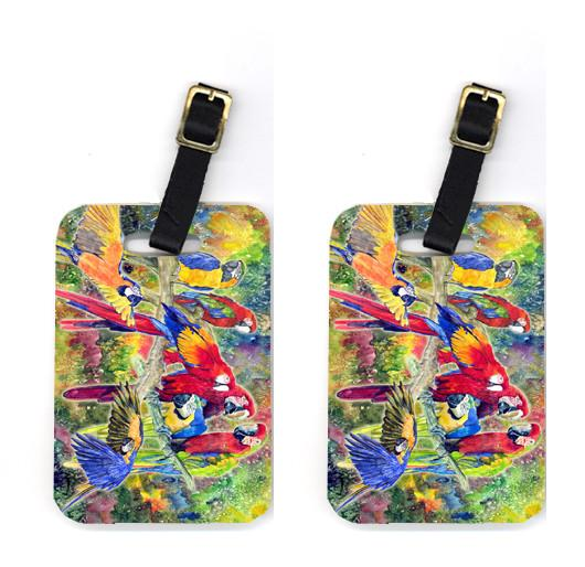 Buy this Pair of Parrot Luggage Tags