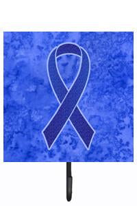 Buy this Dark Blue Ribbon for Colon Cancer Awareness Leash or Key Holder AN1202SH4