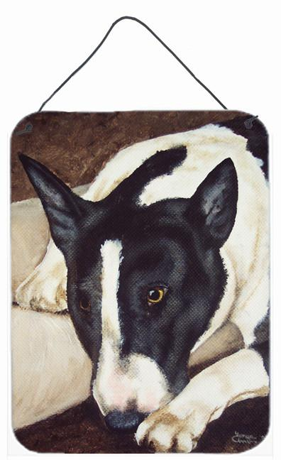 Buy this Bull Terrier by Tanya and Craig Amberson Wall or Door Hanging Prints AMB1030DS1216