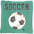 Buy this Soccer   Canvas Fabric Decorative Pillow