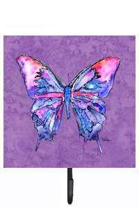 Buy this Butterfly on Purple Leash or Key Holder