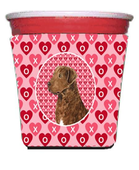 Buy this Chesapeake Bay Retriever  Red Solo Cup Beverage Insulator Hugger