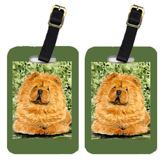 Buy this Pair of 2 Chow Chow Luggage Tags