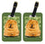 Pair of 2 Chow Chow Luggage Tags by Caroline's Treasures