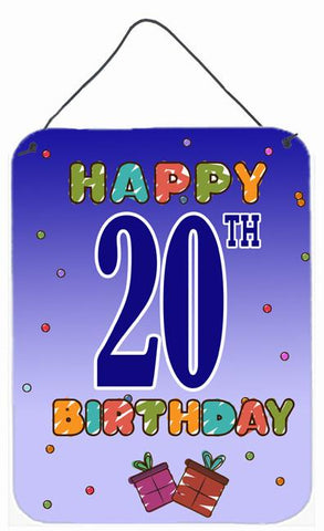 Buy this Happy 19th Birthday Wall or Door Hanging Prints CJ1120DS1216