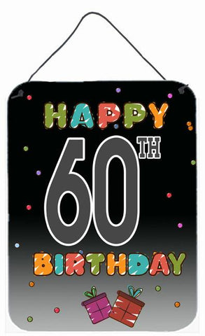 Buy this Happy 60th Birthday Wall or Door Hanging Prints CJ1125DS1216