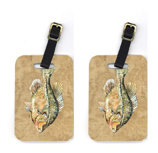 Buy this Pair of Croppie Luggage Tags