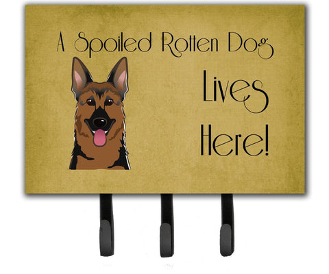 Buy this German Shepherd Spoiled Dog Lives Here Leash or Key Holder BB1459TH68