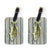 Pair of Fish Bass Small Mouth Luggage Tags by Caroline's Treasures
