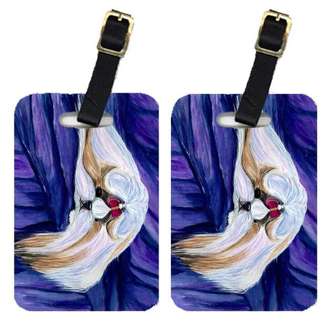 Buy this Pair of 2 Shih Tzu Luggage Tags