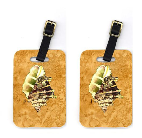 Buy this Pair of Shell Luggage Tags
