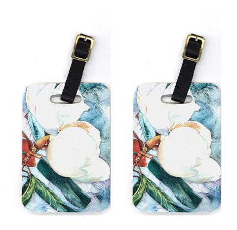 Buy this Pair of Flower - Magnolia Luggage Tags