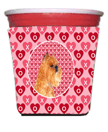 Buy this Brussels Griffon  Red Solo Cup Beverage Insulator Hugger