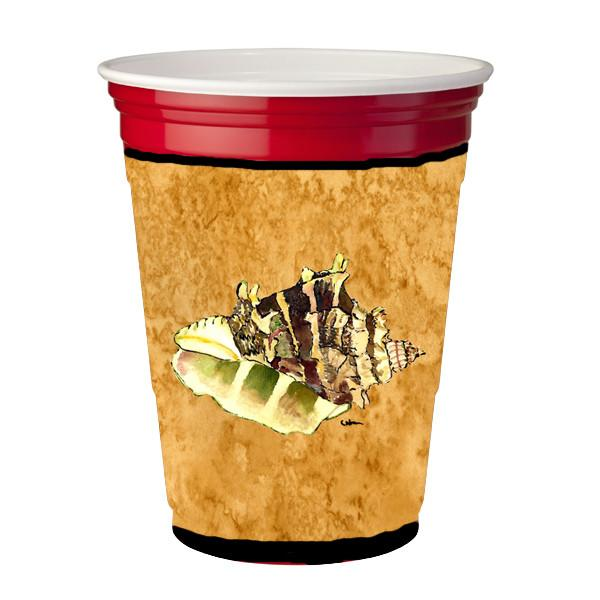 Buy this Shells on gold Red Solo Cup Beverage Insulator Hugger