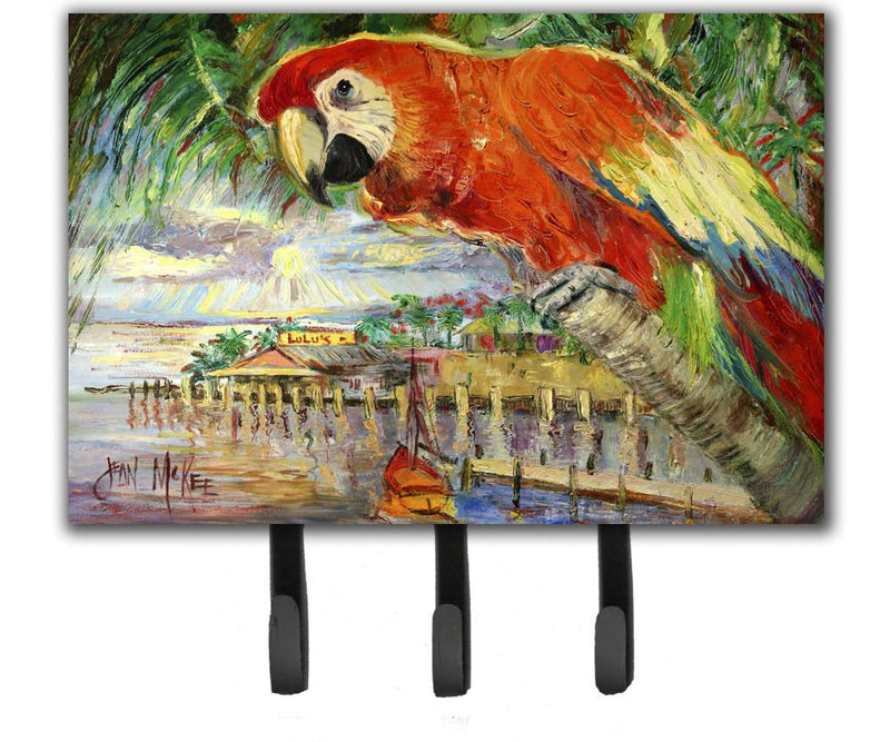 Buy this Red Parrot at Lulu's Leash or Key Holder JMK1134TH68