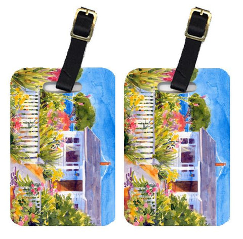 Buy this Pair of 2 Seaside Beach Cottage  Luggage Tags