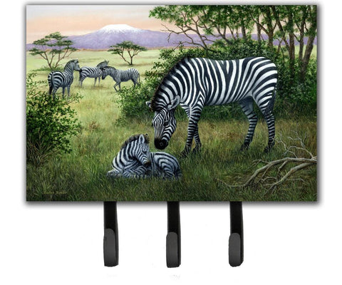 Buy this Zebras in the Field with Baby Leash or Key Holder BDBA0385TH68
