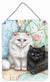 Buy this A Black Cat and A White Cat Wall or Door Hanging Prints CDCO0510DS1216