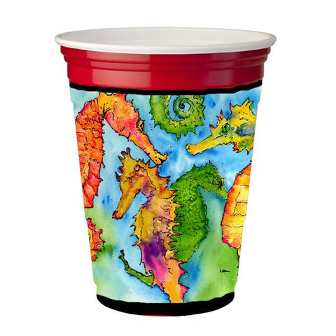 Buy this Seahorse  Red Solo Cup Beverage Insulator Hugger