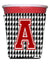 Buy this Monogram - Houndstooth  Initial  A Red Solo Cup Beverage Insulator Hugger CJ1021A-RSC