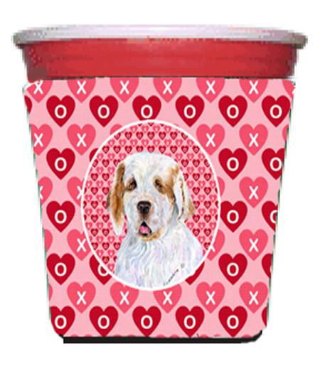 Buy this Clumber Spaniel  Red Solo Cup Beverage Insulator Hugger