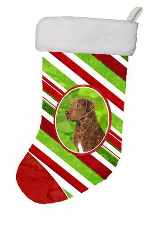 Buy this Chesapeake Bay Retriever Candy Cane Christmas Stocking SS4600