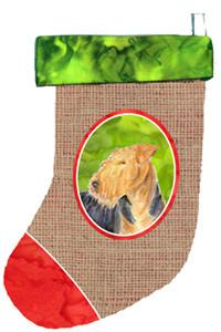 Buy this Airedale Christmas Stocking SS2017