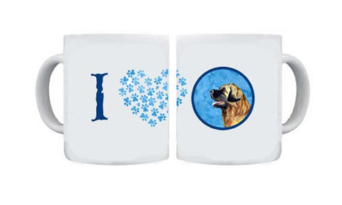 Buy this Leonberger  Dishwasher Safe Microwavable Ceramic Coffee Mug 15 ounce