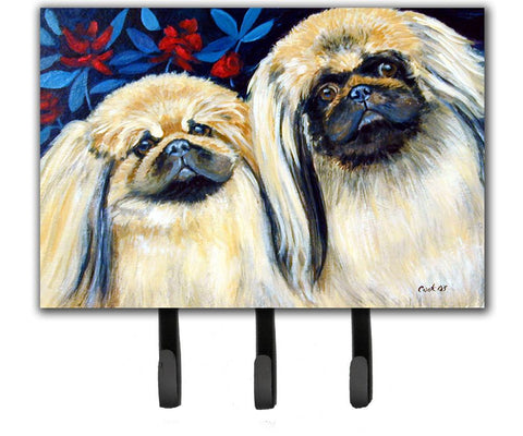 Buy this What a pair of Pekingese Leash Holder or Key Hook