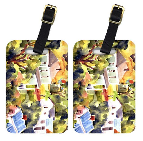 Buy this Pair of 2 Houses Luggage Tags