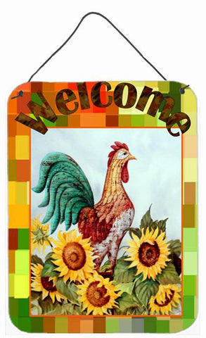 Buy this Welcome Rooster Wall or Door Hanging Prints PJC1056DS1216