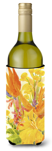 Buy this Flower - Bird of Paradise Wine Bottle Beverage Insulator Beverage Insulator Hugger