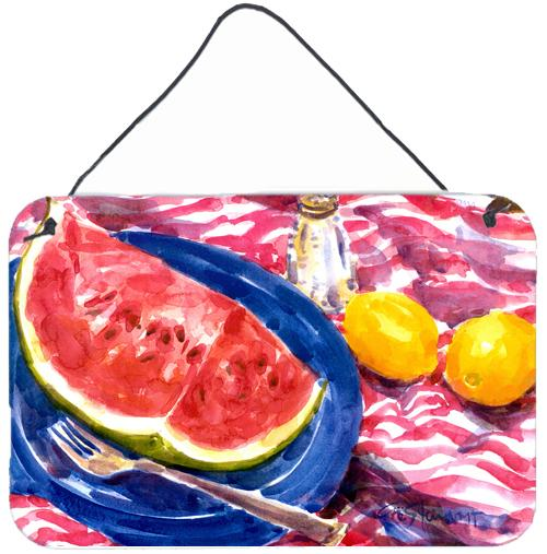 Buy this Watermelon Indoor Aluminium Metal Wall or Door Hanging Prints