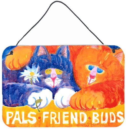 Buy this Cats Pals Friends Buds  Indoor Aluminium Metal Wall or Door Hanging Prints